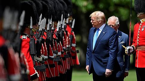 «Лейбористская партия вообще решила бойкотировать этот визит»  / Собственный корреспондент «Ъ FM» в Лондоне — о прибытии Дональда Трампа в Великобританию