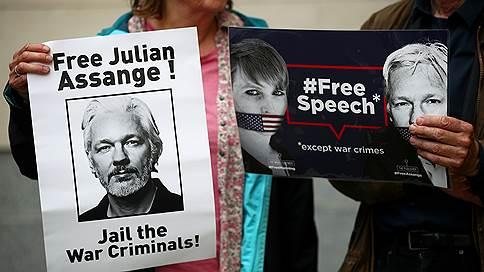 """«Джулиан Ассанж ничего не говорил, только внимательно слушал»  / Собственный корреспондент """"Ъ FM"""" в Лондоне — о заседании британского суда"""