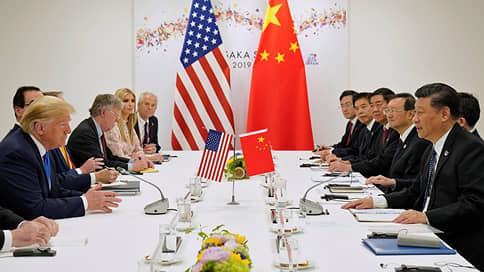 Дональд Трамп и Си Цзиньпин взяли тайм-аут // Как долго продлится пауза в торговой войне США и Китая
