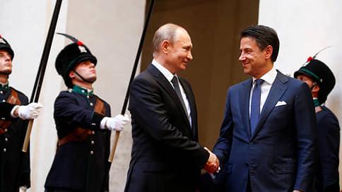 «Ограничения начинают надоедать всем» // Корреспондент «Ъ FM» в Италии — о визите Владимира Путина