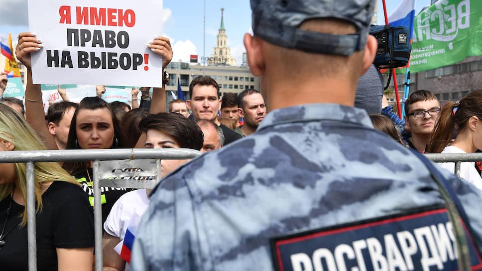Насколько корректно действовала полиция во время несанкционированной акции 3 августа