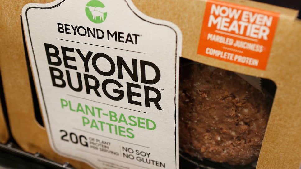 Как добавление порошка из сверчков и конопли повлияет на спрос на искусственное мясо