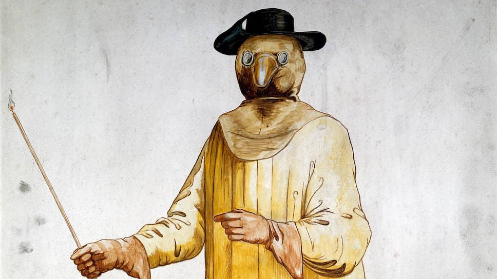 Петр Воронков — о защитной одежде врачей Средневековья