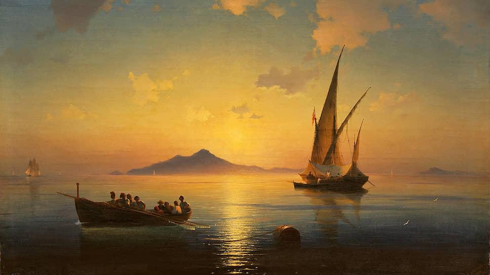 «Неаполитанский залив» вырос в цене / С чем связан интерес к пейзажу Ивана Айвазовского