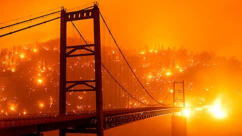 Калифорнию поглотил огонь // Что рассказывают уехавшие из опасных районов американцы