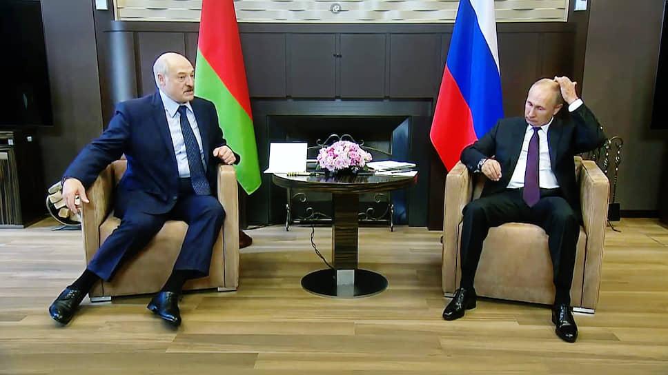 Президенты России и Белоруссии сверили позиции