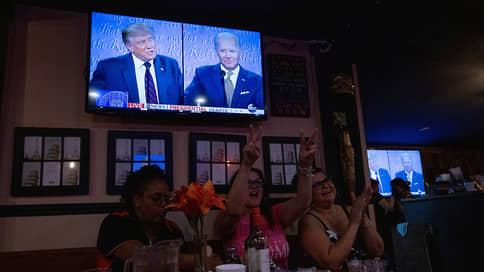 Дебаты обернулись взаимными оскорблениями  / Кто из кандидатов в президенты США был убедительнее