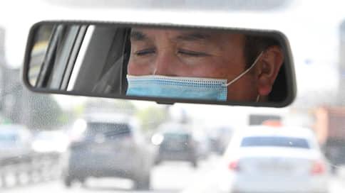 «Адекватные водители уходят с работы» // Столичные таксисты — о соблюдении перчаточно-масочного режима