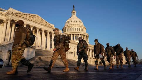 Вашингтон готовится к инаугурации // Как в США оценивают вероятность протестов 20 января