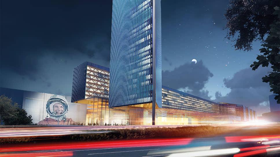 Как будет выглядеть новый космический центр в Москве
