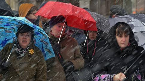 Мокрый снег вернется в Москву // Какие капризы погоды ждут горожан на этой неделе