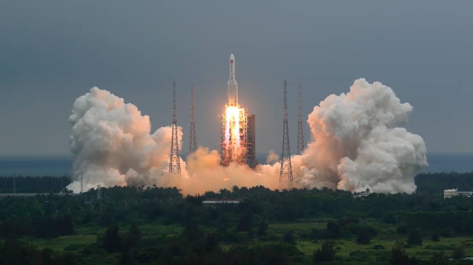 Китай займет позиции в космосе