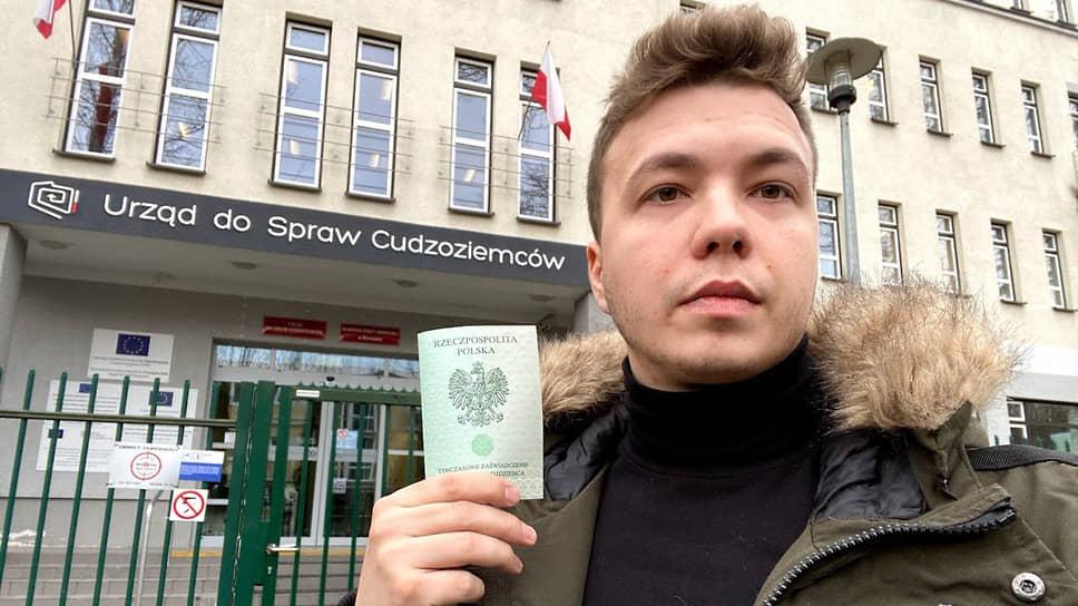 Почему самолет с блогером экстренно посадили в белорусской столице