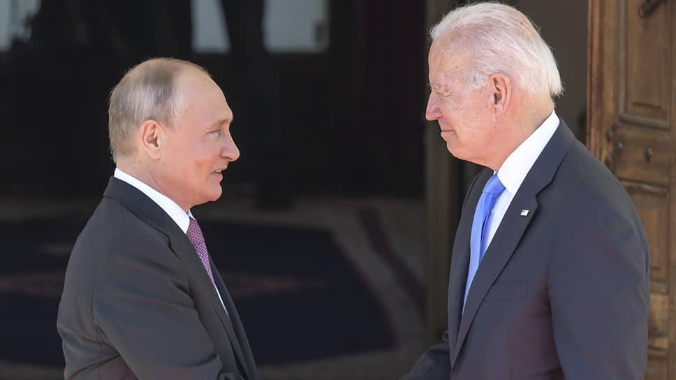 Какие темы обсудили Владимир Путин и Джо Байден в Женеве