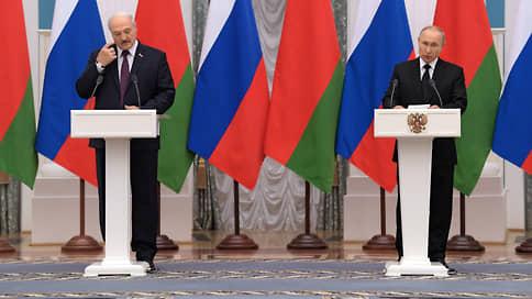 Владимир Путин и Александр Лукашенко сошлись на равных // О чем договорились в ходе встречи президенты России и Белоруссии