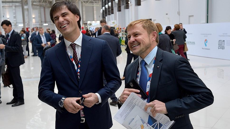 Политологи не видят карьерных перспектив в регионе у вице-губернатора Руслана Гаттарова (слева)
