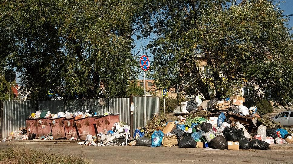 В Челябинске объявлен режим ЧС из-за мусорных завалов