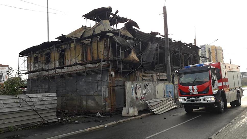 Пепелищу не будет сноса / В Челябинске восстановят особняк XIX века, поврежденный при пожаре