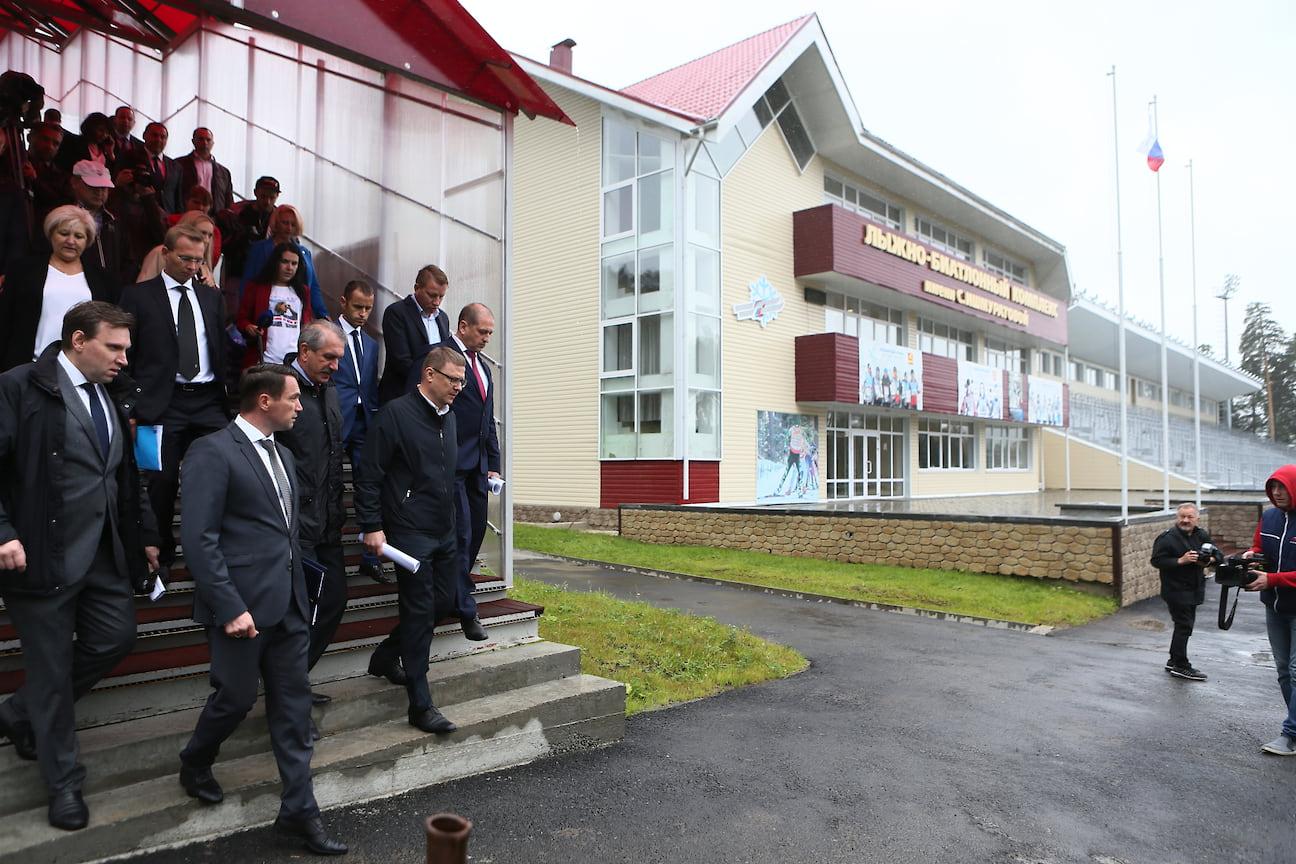 В августе глава региона Алексей Текслер констатировал, что спорткомплекс не готов к приемке