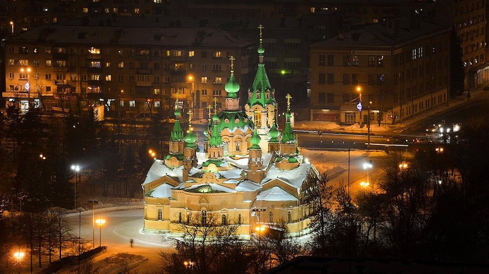 Стартовая цена контракта на реставрацию храма - 464 млн руб.