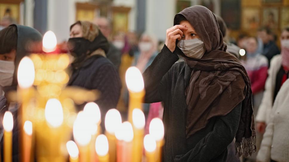 Симптомы COVID-19 пришли в храм / В Челябинской области ограничили посещение церквей из-за госпитализации шести священнослужителей
