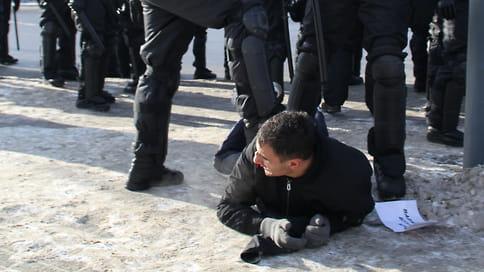 Протест дошел до уголовного дела  / Полиция расследует факт перекрытия дорог во время шествия в Челябинске