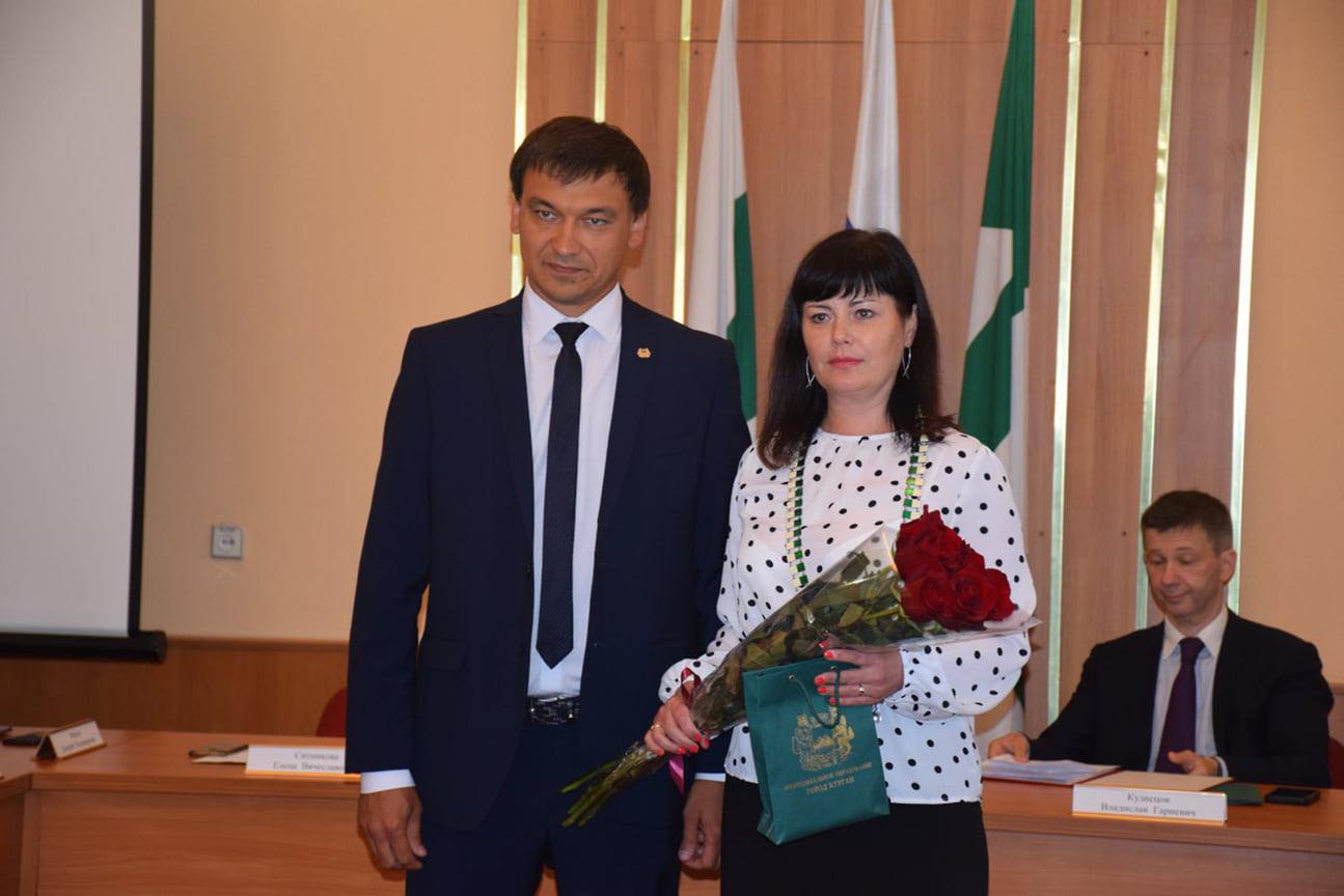 Елена Ситникова – первая женщина-мэр Кургана