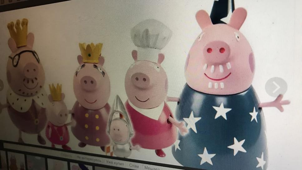 Продавцам подложили поросенка / Владелец бренда «Свинка Пеппа» потребовал компенсации от челябинских предпринимателей