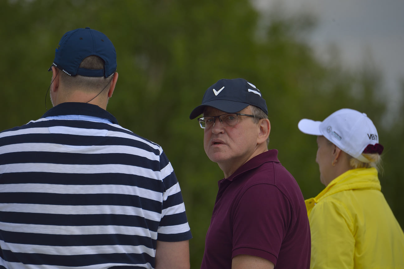 Первый турнир по гольфу в челябинском клубе South Ural golf club