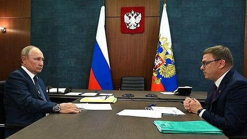 Владимир Путин посетил Челябинскую область  / Президент провел совещание по ликвидации последствий пожаров и встречу с губернатором Алексеем Текслером