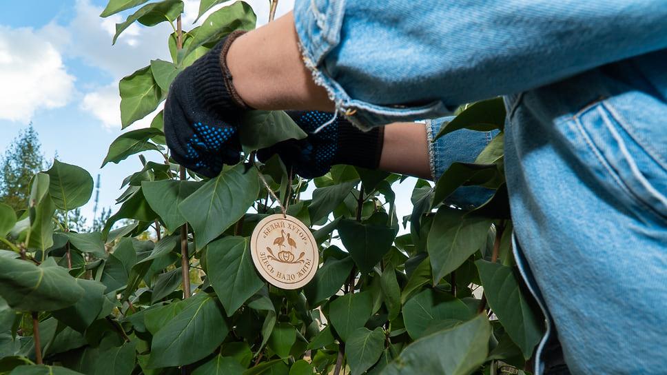 В «Белом хуторе» прошла экологическая акция / Жителям загородного квартала подарят 100 кустов сортовой сирени
