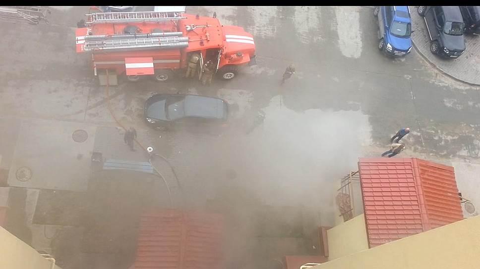Уголовные дела с огоньком / От пожара в помещении СКР в Новом Уренгое пострадал предполагаемый поджигатель