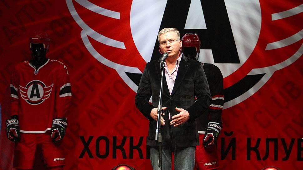 Алексей Бобров охладел к хоккею / Бизнесмен заявил о прекращении работы с ХК «Автомобилист»