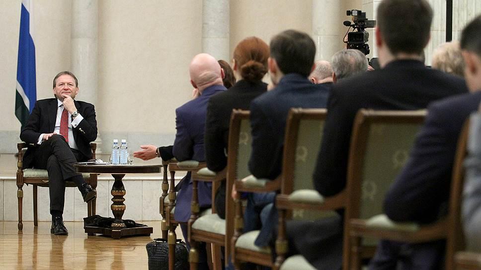 Партия роста прощупала Урал / Бизнес-омбудсмен Борис Титов побывал в Екатеринбурге