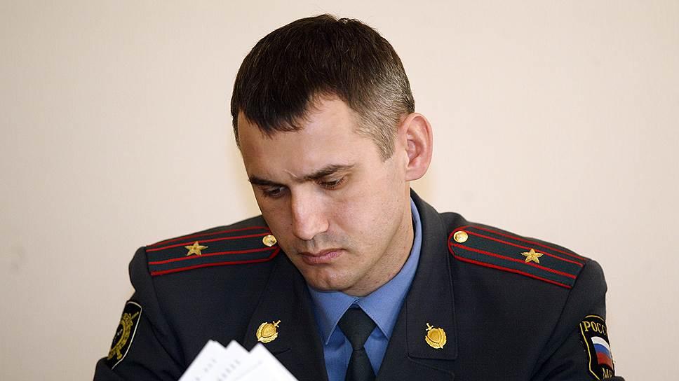 Заместитель начальника УМВД по Курганской области полковник Андрей Алешкин