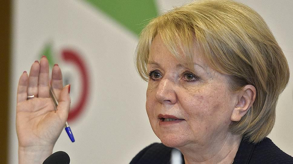 Глава «Яблока» Эмилия Слабунова возмущена вмешательством депутата в образовательный процесс