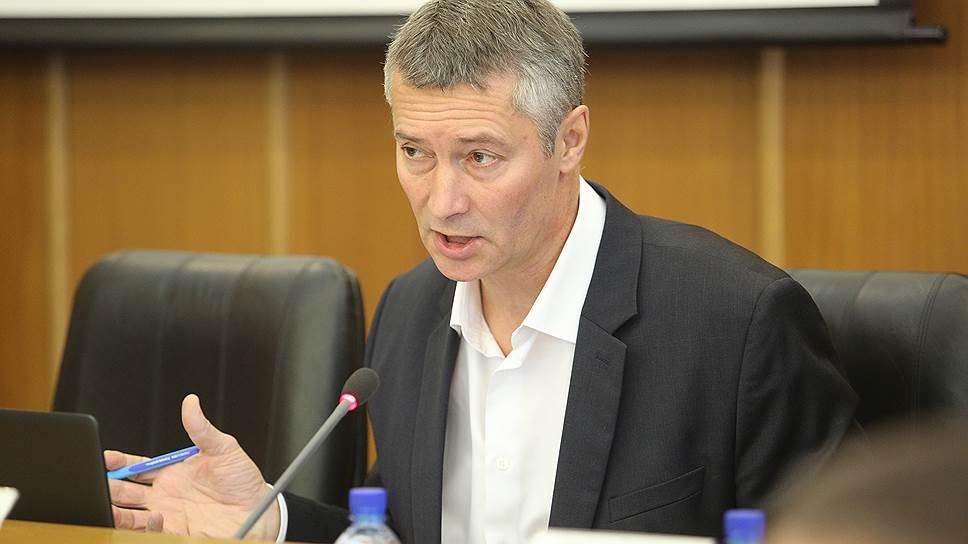 Евгений Ройзман в слушаниях не участвует / Мэр Екатеринбурга не стал назначать обсуждение поправок об отмене выборов