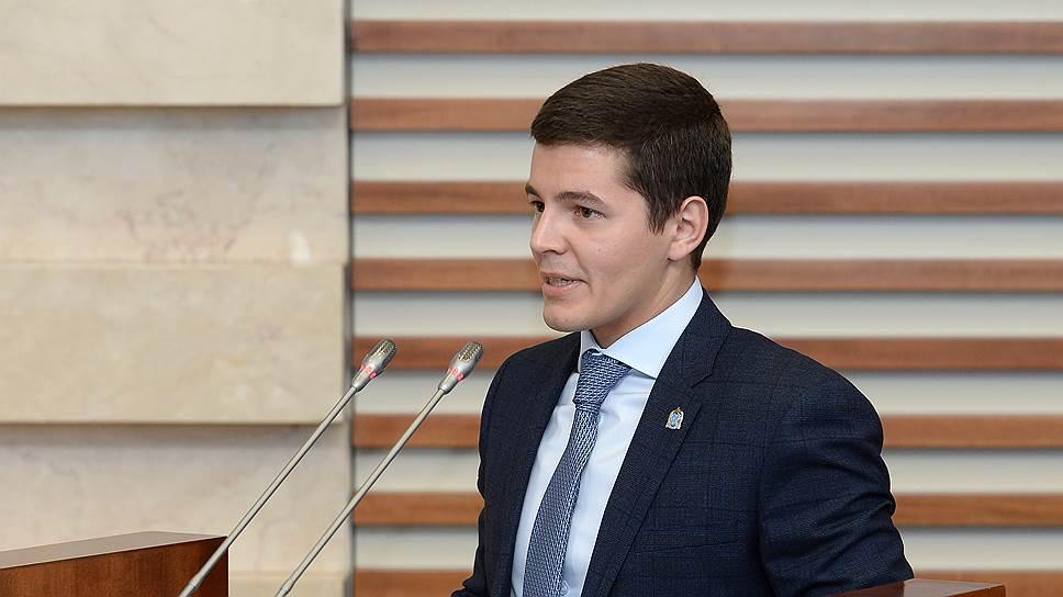 Заместитель губернатора ЯНАО Дмитрий Артемовс стал самым молодым руководителем субъекта