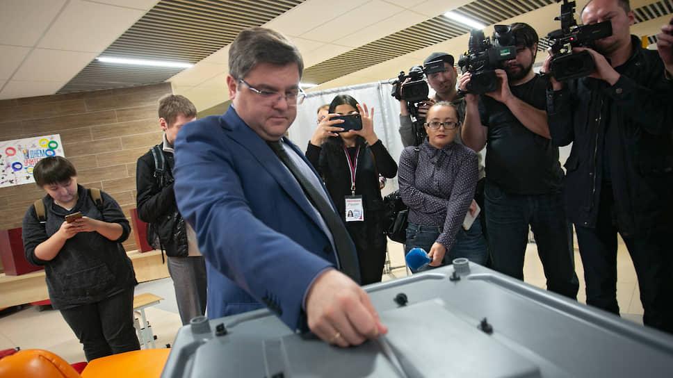 Руководитель аппарата мэрии Илья Захаров считает, что процесс голосования займет не более двух с половиной минут