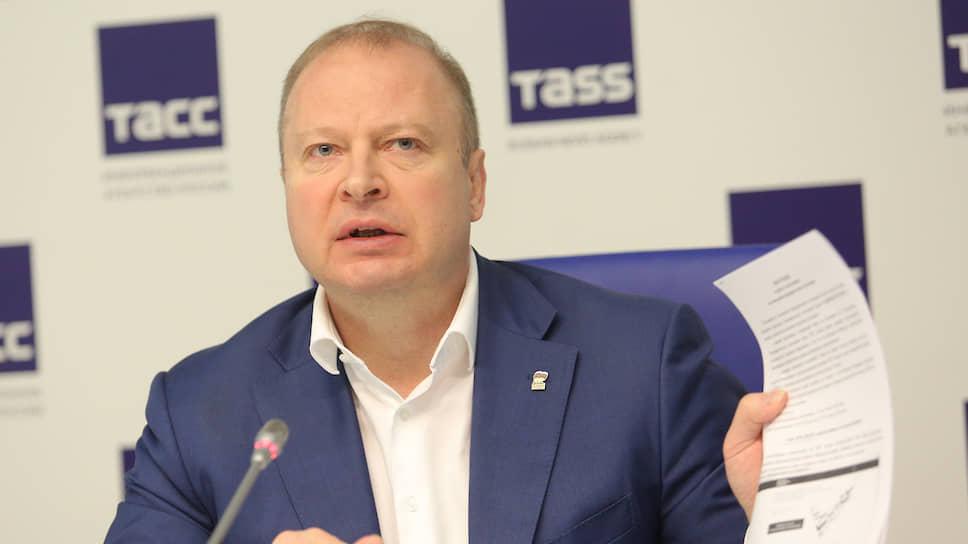 Секретарь Свердловского регионального отделения партии «Единая Россия» Виктор Шептий