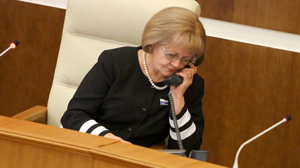 Спикер заксобрания Людмила Бабушкина уверена, что жители региона будут выполнять требования самоизоляции и никаких штрафов не будет