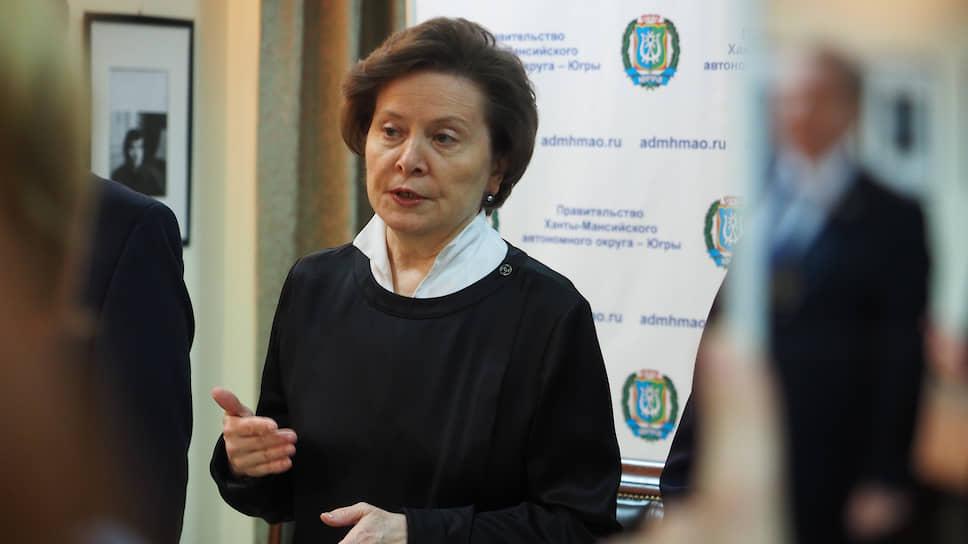 Десять с плюсом / Наталья Комарова хочет переизбраться в губернаторы ХМАО еще на один срок