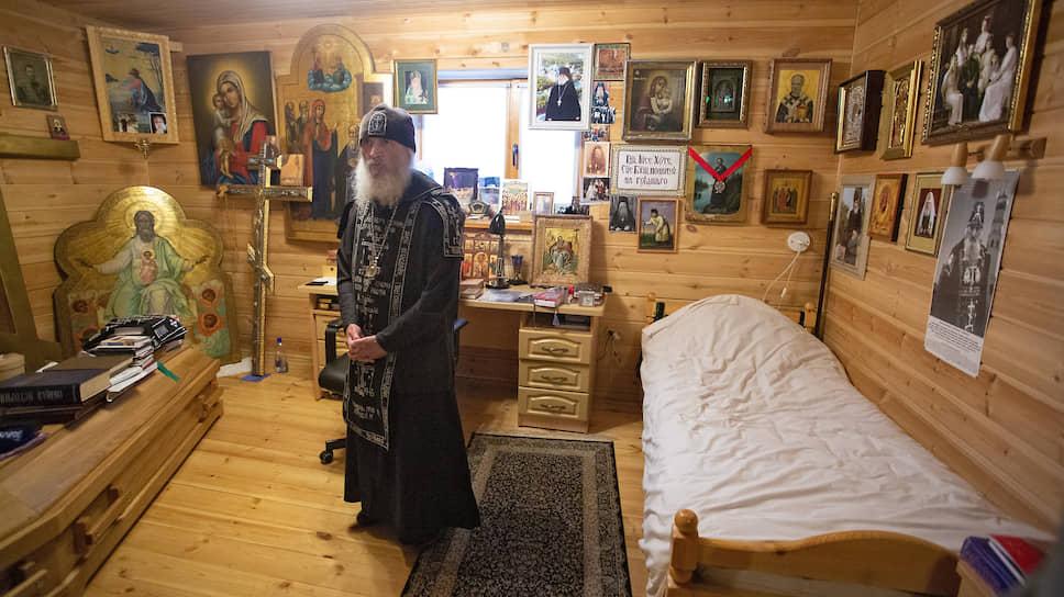Схиигумен Сергий (Романов) заявил, что не покинет Среднеуральский женский монастырь