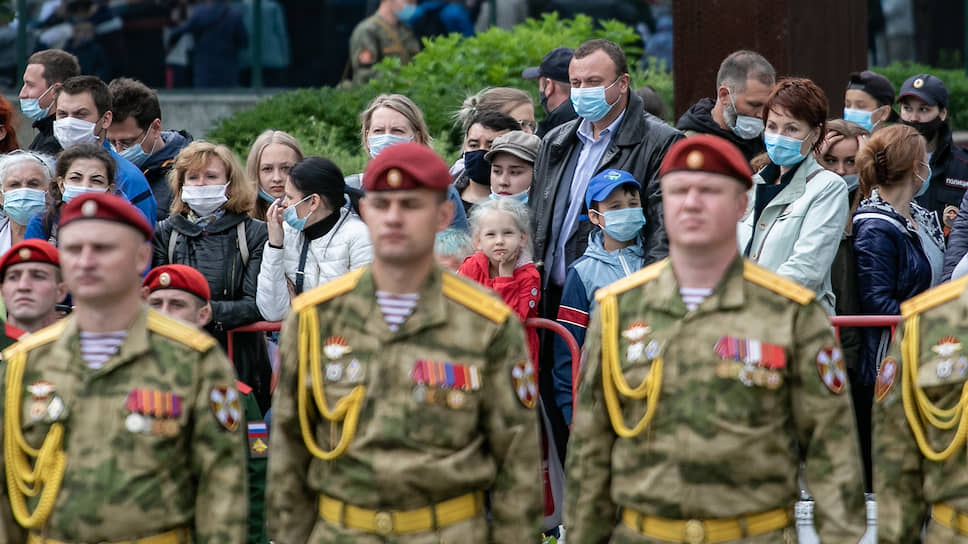 Июньский майский день / В Екатеринбурге прошли торжества в честь 75-летия Победы