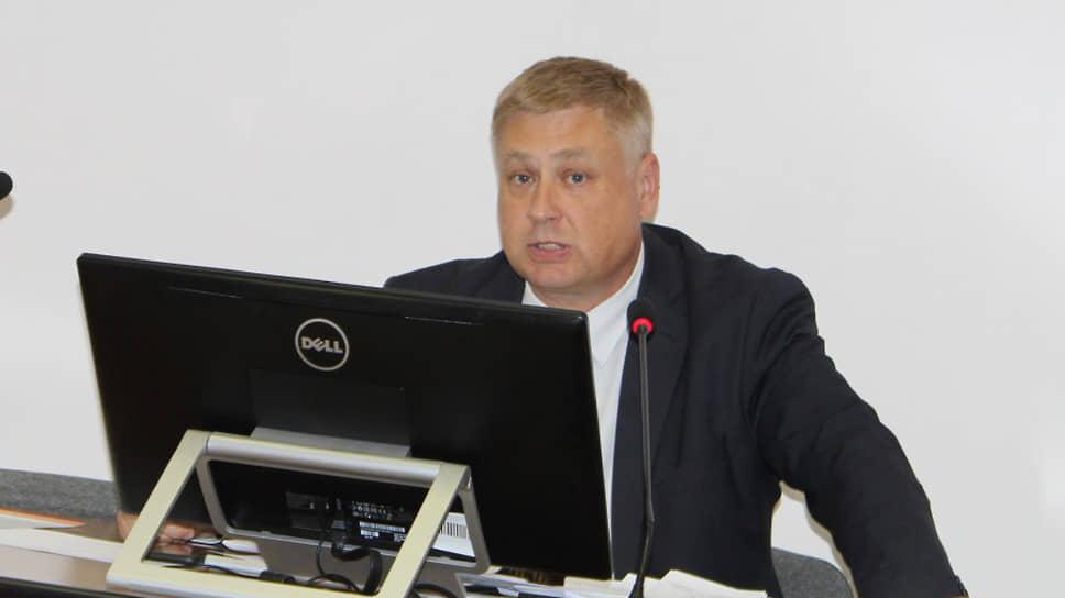 Глава Кировского района Александр Лошаков