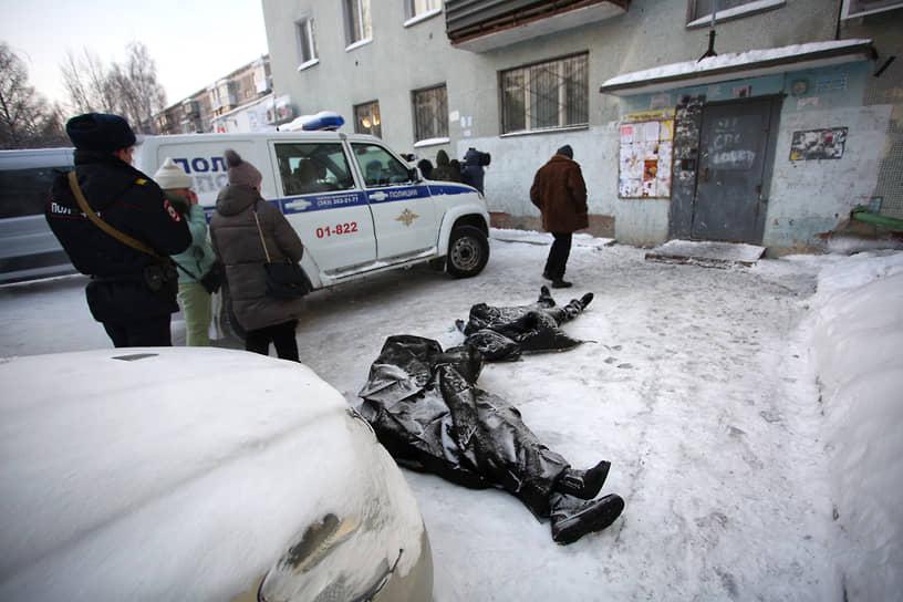 Пожар на улице Рассветной унес жизни восьми человек