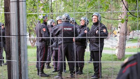 СКР провел обыски по делу о беспорядках во время протестов в сквере