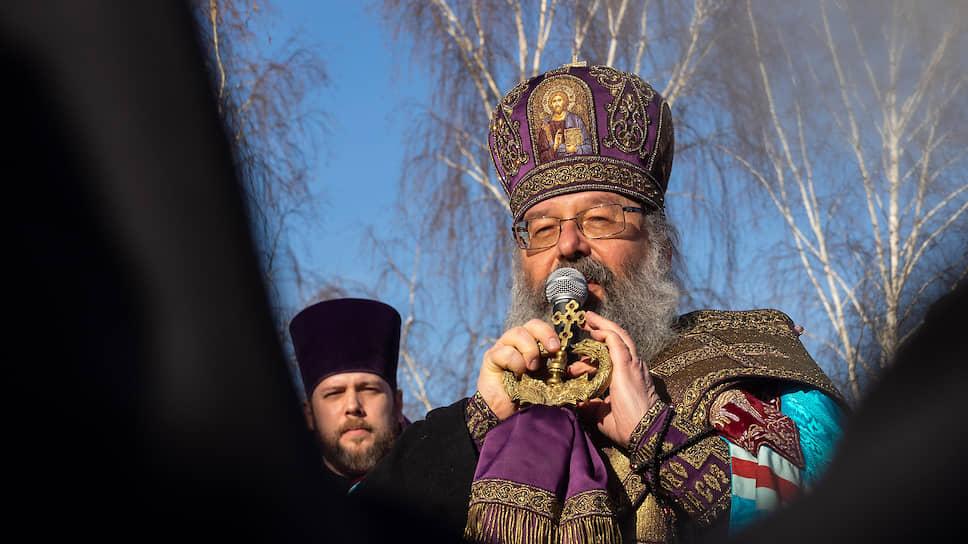 Как митрополит Кирилл призвал голосовать за площадку приборостроительного завода