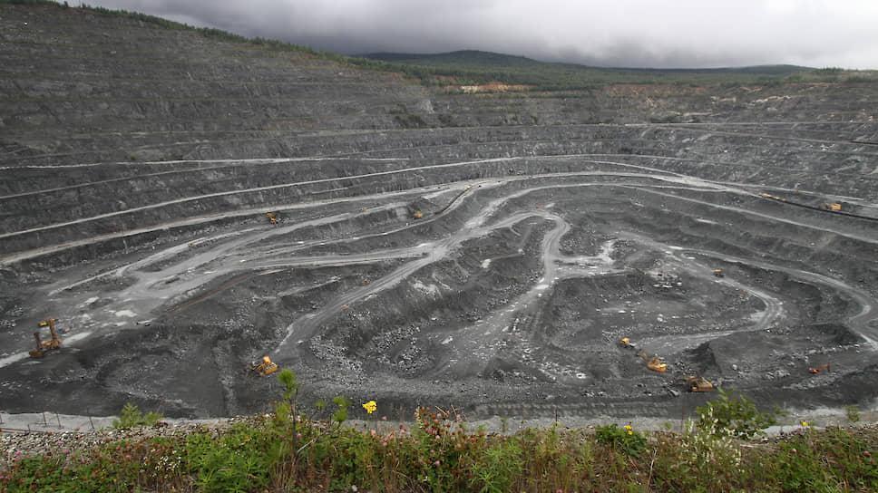 Добыча железной руды на Качканарском горно-обогатительном комбинате