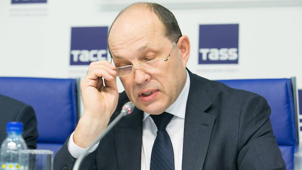 Министр строительства Свердловской области Михаил Волков